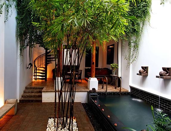 Bangkok Riverside Pool Villa The Siam Hotel Bangkok