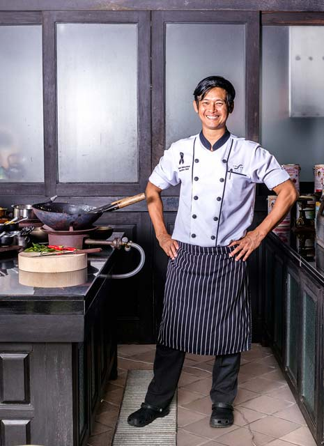The Siam's Head Chef Damri