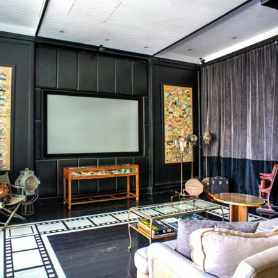 Screening Room at The Siam