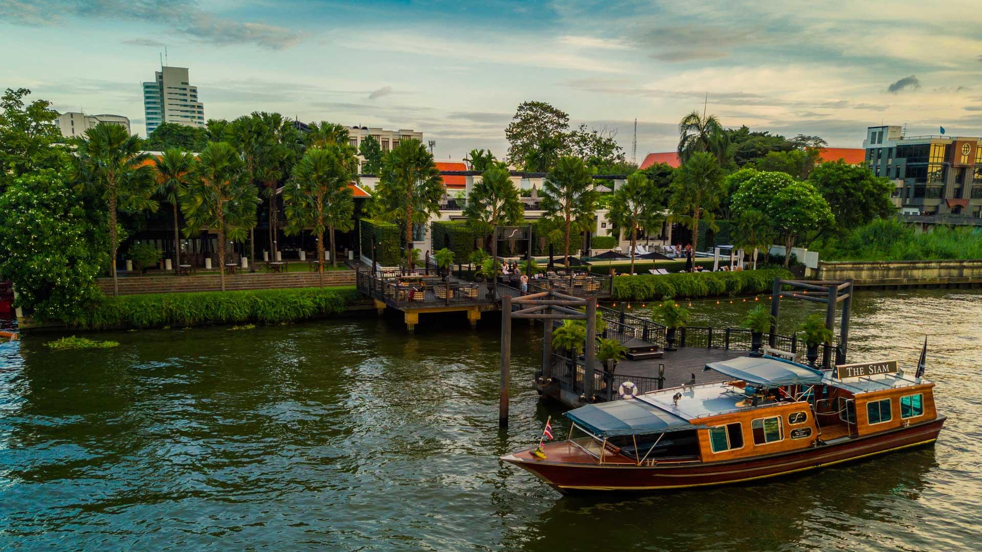 The Siam's Pier & Shuttle Boat